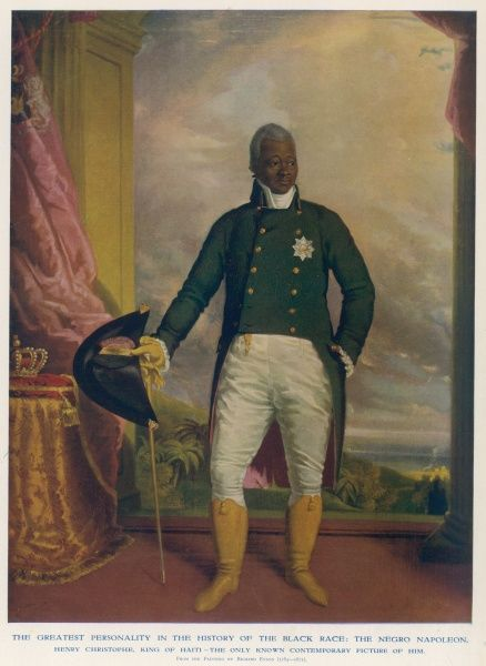 Henri (or Henry) Christophe a leader in the Haitian Revolution, winning independence from France for Haiti in 1804. Made President of Haiti in 1807, and in March 1811 was proclaimed Henri I, King of Haiti. Constructed the Citadelle Laferrire