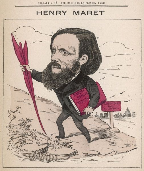 Henri Maret (1837-1917) French journalist and politician