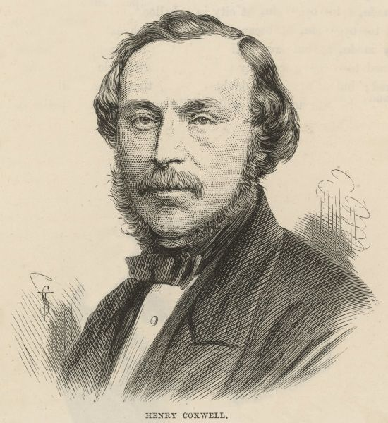 HENRY COXWELL English balloonist, who made several scientific ascents with Glaisher