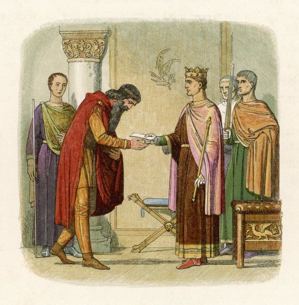 King Henry II of England authorises Dermod to levy forces