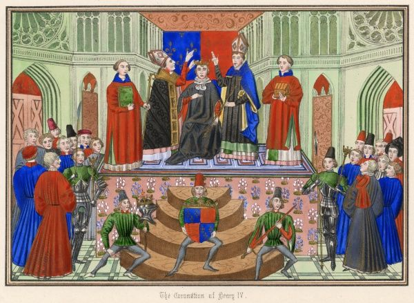 HENRY IV crowned at Westminster