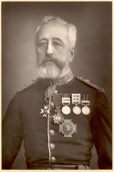 sir HENRY WYLIE NORMAN military and colonial administrator, photo 1894