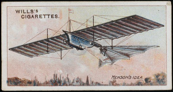 HENSON'S PROJECT William Samuel Henson's steam- powered flying machine project (England)