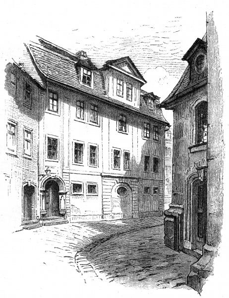 HERDER'S HOME AT WEIMAR Date: 18TH CENTURY