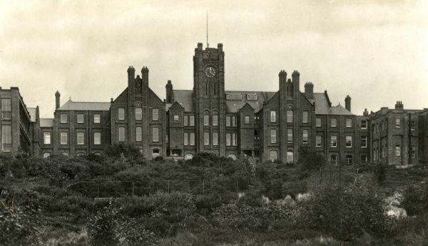 Heswall Sanatorium or Children's Hospital, located on the Wirral peninsula, then part of Cheshire. It was established in 1902 by Liverpool Parish, West Derby Union, and Toxteth Park Township for the treatment of phthisis, or tuberculosis of the lungs