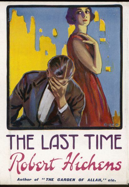 'THE LAST TIME' (Robert Hichens) Despairing, he buries his face in his hand : she stands beside him, aloof and not being very helpful