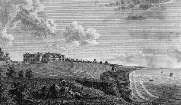 High Cliff, Hampshire, the seat of the Earl of Bute Date: late 18th century