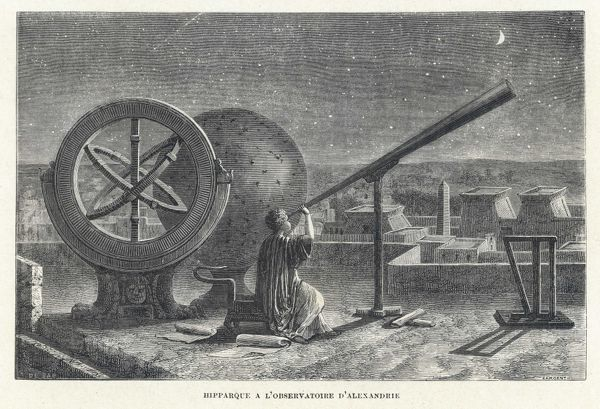Hipparchus at Alexandria Observatory