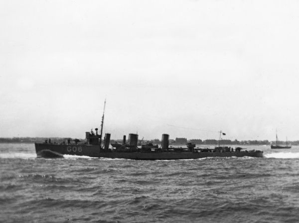 HMS Lochinvar, British Laforey-class torpedo boat destroyer, launched 1915, served during the First World War, decommissioned 1921. Date: 1915-1918