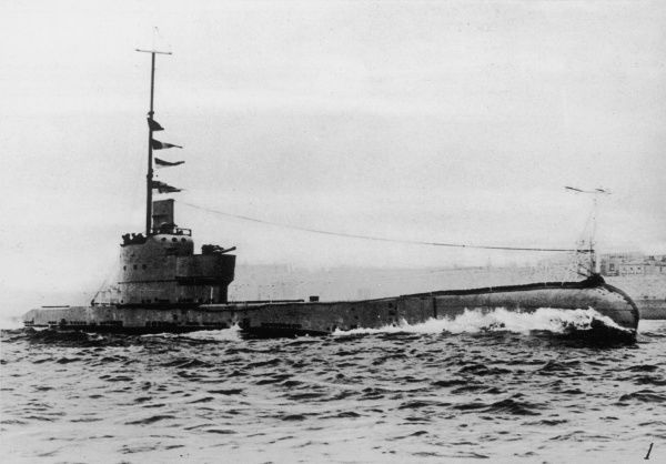 H.M.S. Poseidon, the submarine which sank after colliding with a Chinese merchant ship, the SS Yuta, on 9 June 1931, 21 miles north of Wei-hai-wei, China. 22 crew died, The Poseidon was a Parthian class submarine, launched in 1929