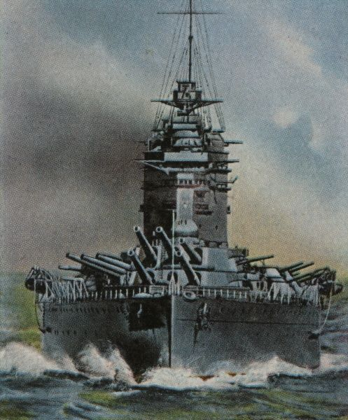 British battleship whose finest hour will come in May 1941 when her accurate gunfire is the crucial factor in the sinking of the German warship 'Bismarck' Date: 1927 - 1941