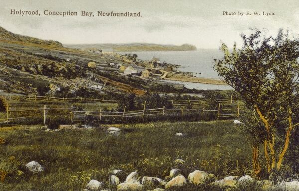 Holyrood, Conception Bay, Newfoundland and Labrador Date: 1908