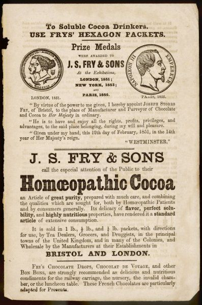 The manufacturers of Crunchie bars venture into alternative medicine with HOMAEOPATHIC COCOA. If it is diluted like homeopathic remedies, it can't have much taste !