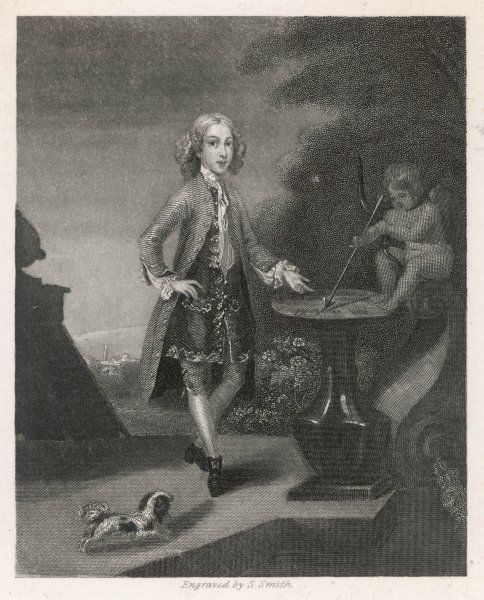 HORACE (HORATIO) WALPOLE 4TH EARL OF ORFORD English man of letters at the age of ten