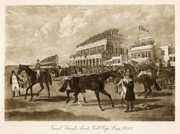 Gold cup day, 1839