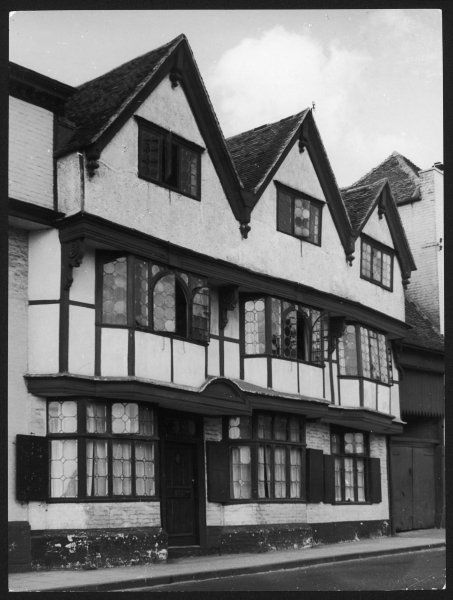"The House of Agnes, 71 St, Dunstan's Street, Canterbury, Kent. This splendid house is associated with the love story in ""David Copperfield&quot"