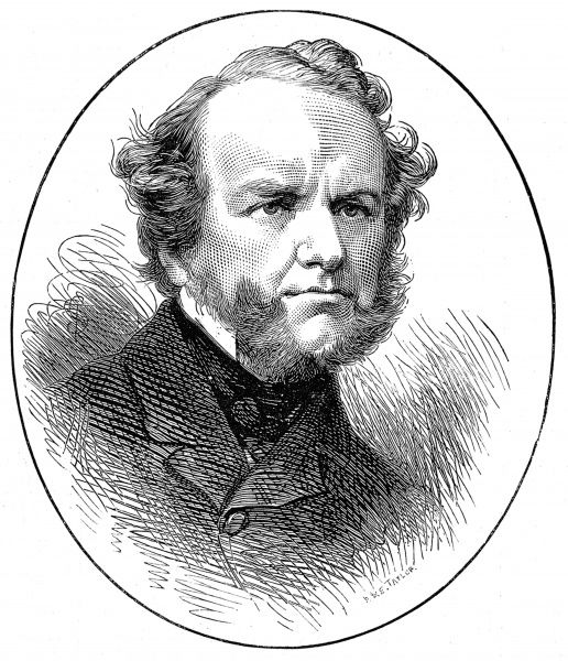 Howard Staunton (1810-1874), English Shakespearean scholar, actor and chess player. World chess champion from 1843-1851, he also wrote, 'The Chess-Player's Handbook', published in 1847