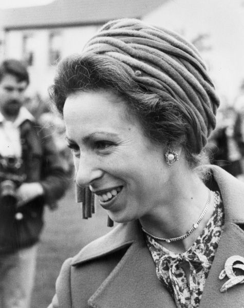 HRH Princess Anne, Princess Royal making an official visit to Cornwall