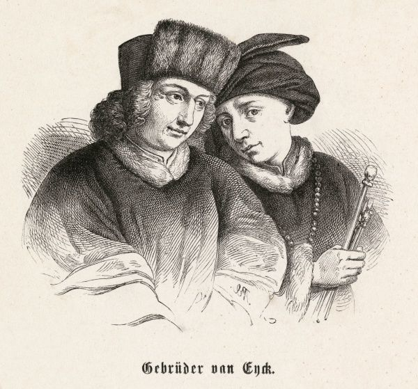 HUBERT & JAN VAN EYCK Flemish artists and brothers
