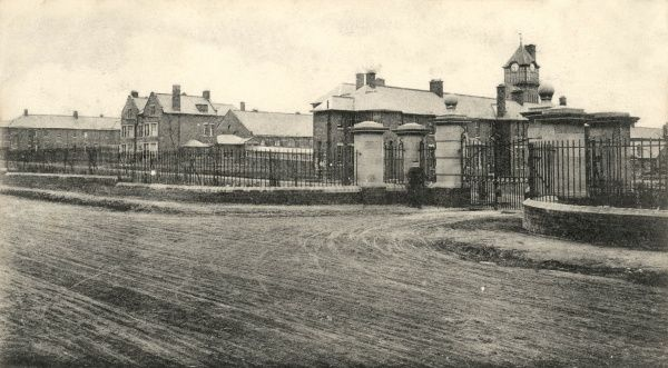 The Hunslet and Rothwell Union workhouse at Rothwell, near Leeds, West Yorkshire, opened in 1903. The site later became St George's Hospital