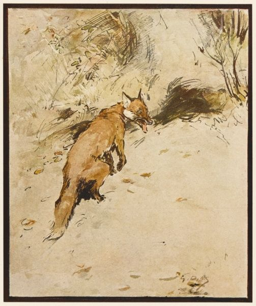 'F is the Fox upon whom runs depend, who finds among saboteurs many a friend...&#39