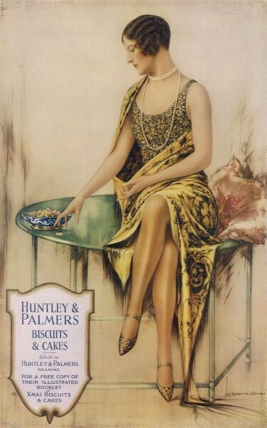 Huntley & Palmers biscuits and cakes