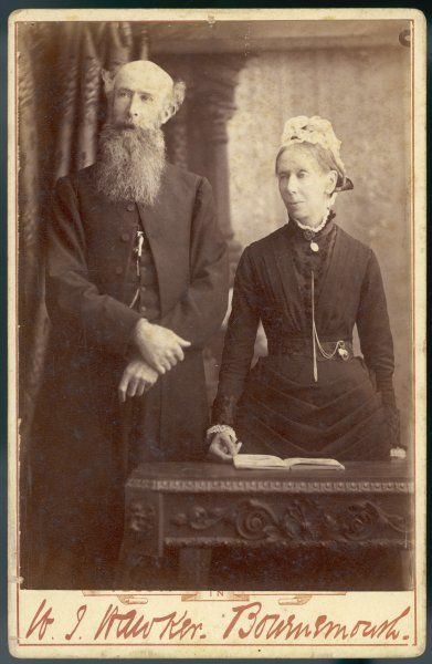 The Reverend Adam Gordon and his wife, Julia