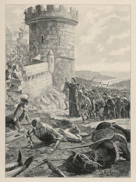 The Hussites under Jan Ziska defeat the Catholic army of Sigismund, on the Vitkow Hill outside Prague