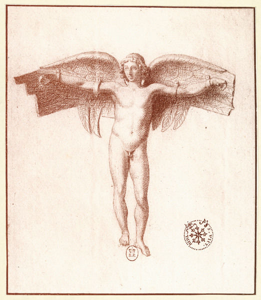 Icarus, with a quite inadequate pair of wings