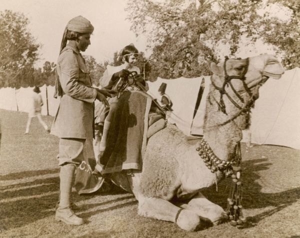 In India during the Raj, there was no need for children to go to a zoo for a camel ride