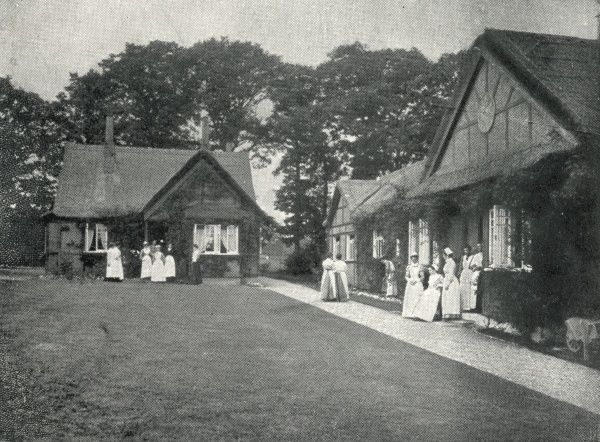 Inmates at the Industrial Farm Colony for Female Inebriates, Duxhurst, Surrey