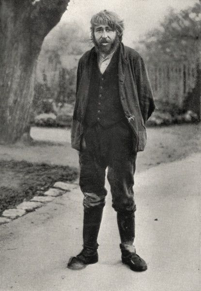 A tramp, aged 24, on the road, said to be insane by the former Oxford Liberal MP Frank Gray, who in the 1920s had a particular concern for tramps and vagrants