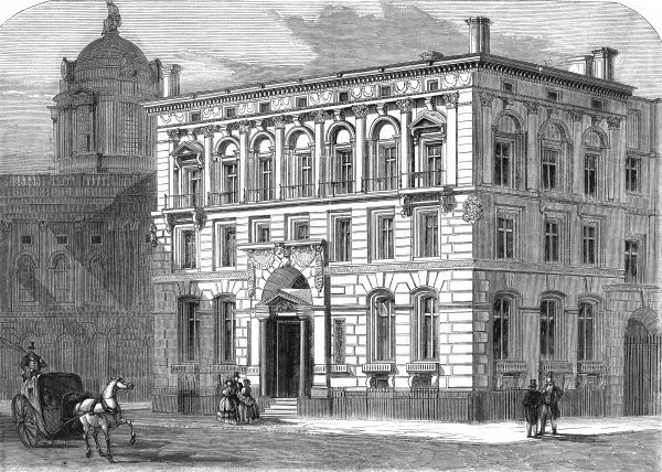The Liverpool and London Fire and Life Insurance offices, Liverpool Date: 1858