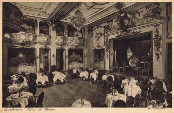 Interior of Theatre des Westens, Berlin Date: 1920