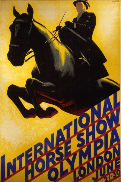 International horse show at Olympia advert for June 21st-30th, year unknown, but possibly 1930s