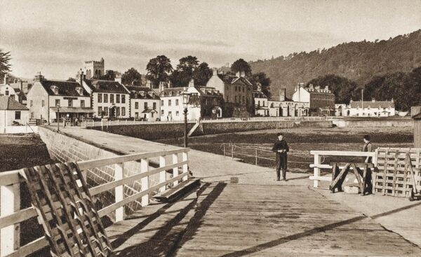 Inverarary, Scotland - view from the harbour