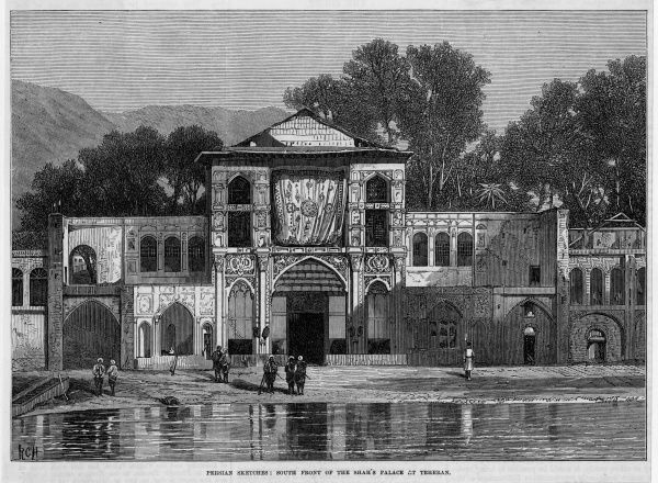 The palace of the Shah of Persia : the south front