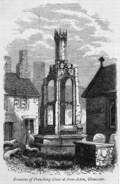 The Preaching Cross at Iron Acton, Gloucestershire