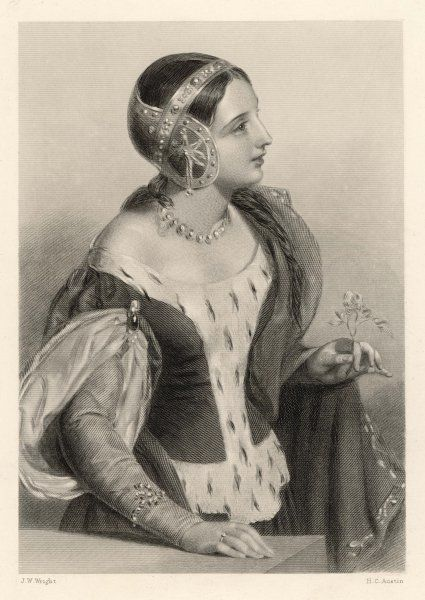 ISABELLA OF FRANCE queen of Edward II, daughter of Philippe IV of France