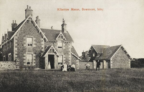Islay - Bowmore - Kilarrow Manse - the Priest's house