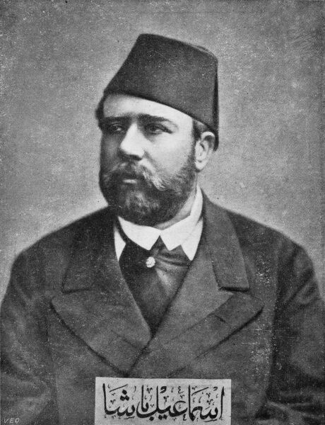 Isma'il Pasha, known as Ismail the Magnificent (1830 - 1895), was Wali and subsequently Khedive of Egypt and Sudan from 1863 until he was removed at the behest of the British in 1879. While in power he greatly modernized Egypt and Sudan