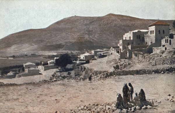 Israel - Village of Shechem and Mount Gerizin Date: circa 1910s