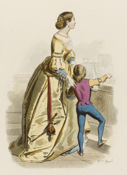 A young Venetian woman and her little brother, from a picture by Gatteri