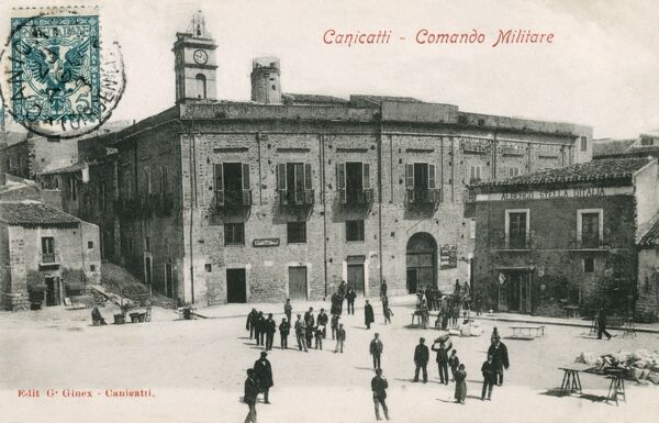 Italy - Canicatti, Sicily - Military Headquarters
