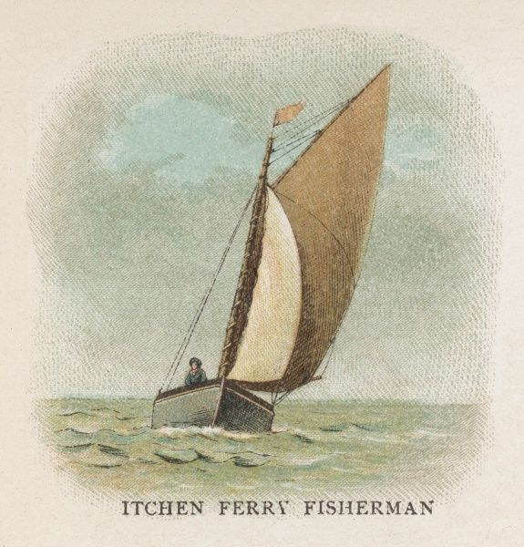 Fishing boat of Itchen Ferry, Hampshire