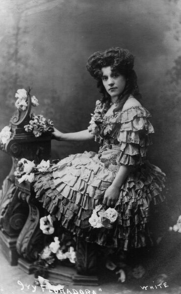 Ivy 'Floradora' - A minor English music hall celebrity, part of a sister act around 1905 who were billed as 'Three Floradora Girls' (see 10548015)