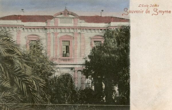 Izmir, Turkey - Idadie School (Ottoman Imperial School) Date: 1905