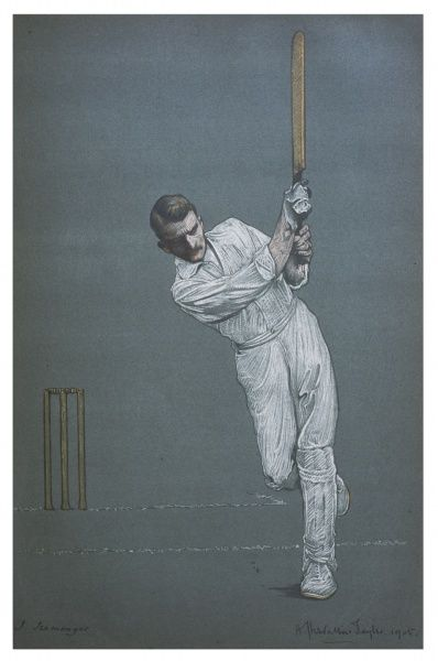 James Iremonger - cricketer for Nottinghamshire, who also played Association Football for Notts County as a full- back gaining an England cap against Scotland in 1901