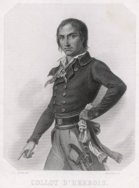 J M COLLOT-D'HERBOIS French revolutionary