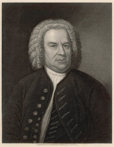 JOHANN SEBASTIAN BACH German organist and composer